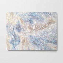 Nature Flow Metal Print