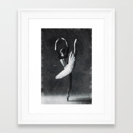 Dancing alone ... Framed Art Print