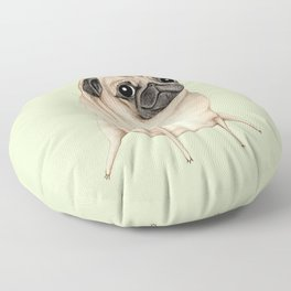 Sweet Fawn Pug Floor Pillow
