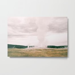 The Legendary Old Faithful  Metal Print