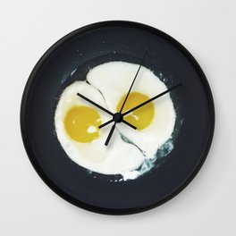 Yin-yang breakfast Wall Clock