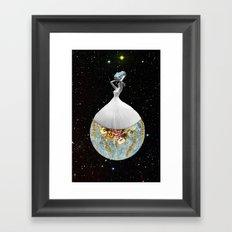Element 115 Framed Art Print