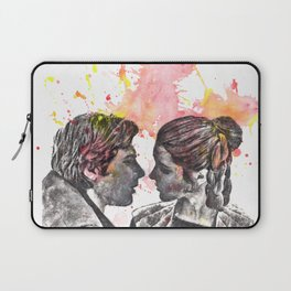 Han Solo and Princess Leia from Star Wars Laptop Sleeve