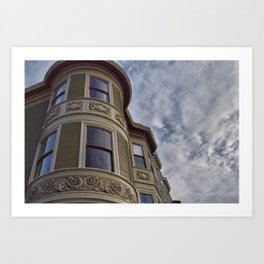 San Francisco Architecture - Russian Hill Art Print