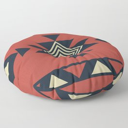 Aztec pattern Floor Pillow