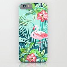 Flamingo green Slim Case iPhone 6