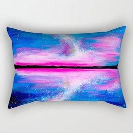 Quando il cielo si incontra con la terra Rectangular Pillow