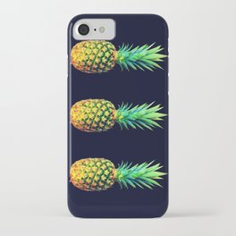 Night Knights Pineapples iPhone Case