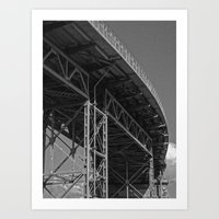 bridge Art Prints featuring Bridge by Christophe Chiozzi