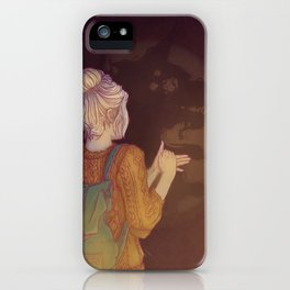 Shadows Lady iPhone Case