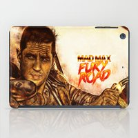mad max iPad Cases featuring Mad Max : Fury Road by p1xer