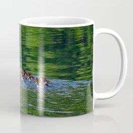 Merganser Duck Family Coffee Mug