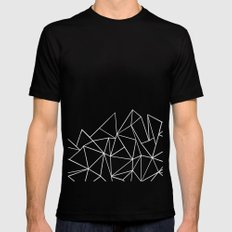 Ab Peaks MEDIUM Mens Fitted Tee Black