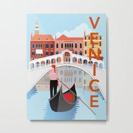 Venice Art Print Metal Print
