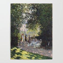 The Parc Monceau Poster