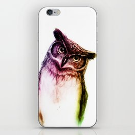 The wise Mr. Owl iPhone Skin