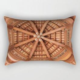 Wooden Sruckture Rectangular Pillow
