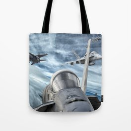 Swarm of Hornets Tote Bag