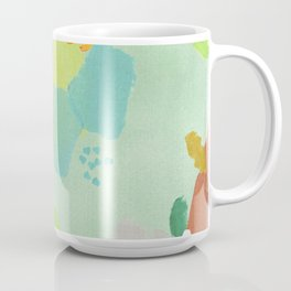Bright Paints + Gold Coffee Mug