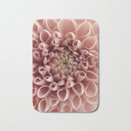 Blush Pink Flower Bath Mat