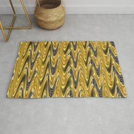 Zigzag Yellow Rug