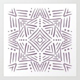 Abstract native Art Print