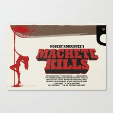 Machete Kills Canvas Print