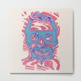 romeros masque Metal Print