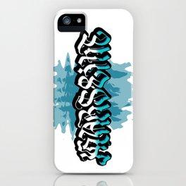 Marseille (Blue background) iPhone Case