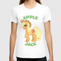 mlp T-shirts featuring MLP FiM: Applejack by Yiji