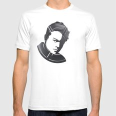 Leonardo DiCaprio Mens Fitted Tee SMALL White