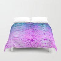 wizard Duvet Covers featuring Melted Wizard by Peta Herbert