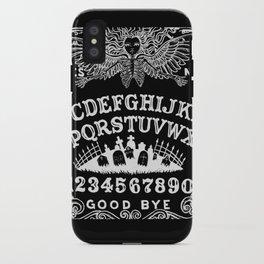 Ouija Board Black iPhone Case