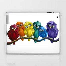 Rainbow Owls Laptop & iPad Skin