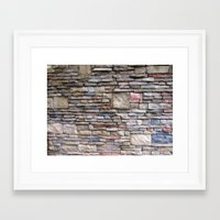 solid Framed Art Prints featuring Solid by Teresa Connell
