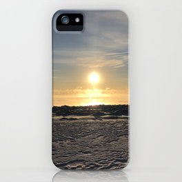 light house from afar iPhone Case