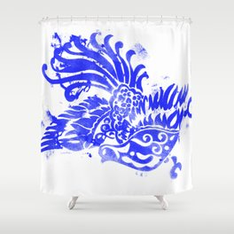 Fly Day or Night Shower Curtain