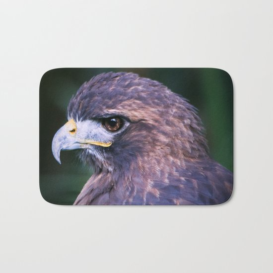 Red-tailed Hawk Bath Mat