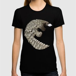 Pangolin with mask T-shirt