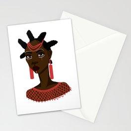 Nsukka woman Stationery Cards