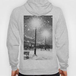 New York City Night Snow Hoody