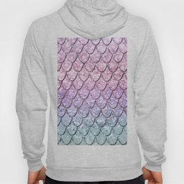Mermaid Scales on Unicorn Girls Glitter #1 #shiny #pastel #decor #art #society6 Hoody