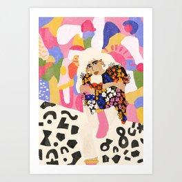 World Full Of Colors Art Print