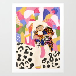 World Full Of Colors Art Print