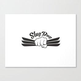 Slug Bug Fist With Background Canvas Print