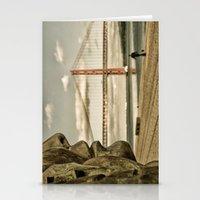 bridge Stationery Cards featuring Bridge by Sébastien BOUVIER