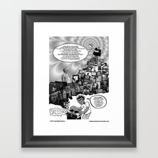 Musical Mystery Tour Framed Art Print