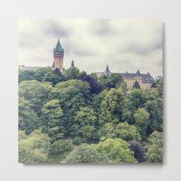 Luxembourg panorama Metal Print
