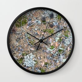 The Forest Floor Wall Clock