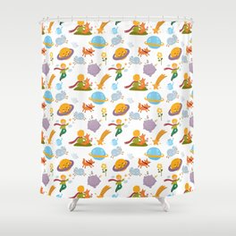 The little boy Shower Curtain